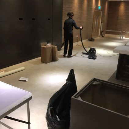 Examples of our after build cleaning services