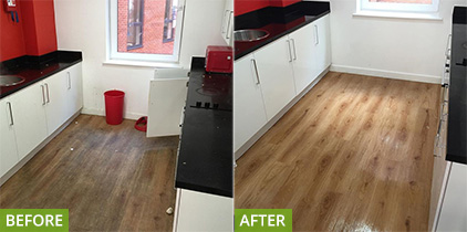 X1 Letting student accommodation cleaning