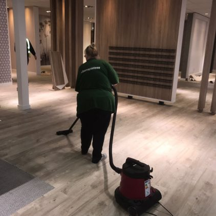 Harvey's Furniture Store Cleaning Aintree