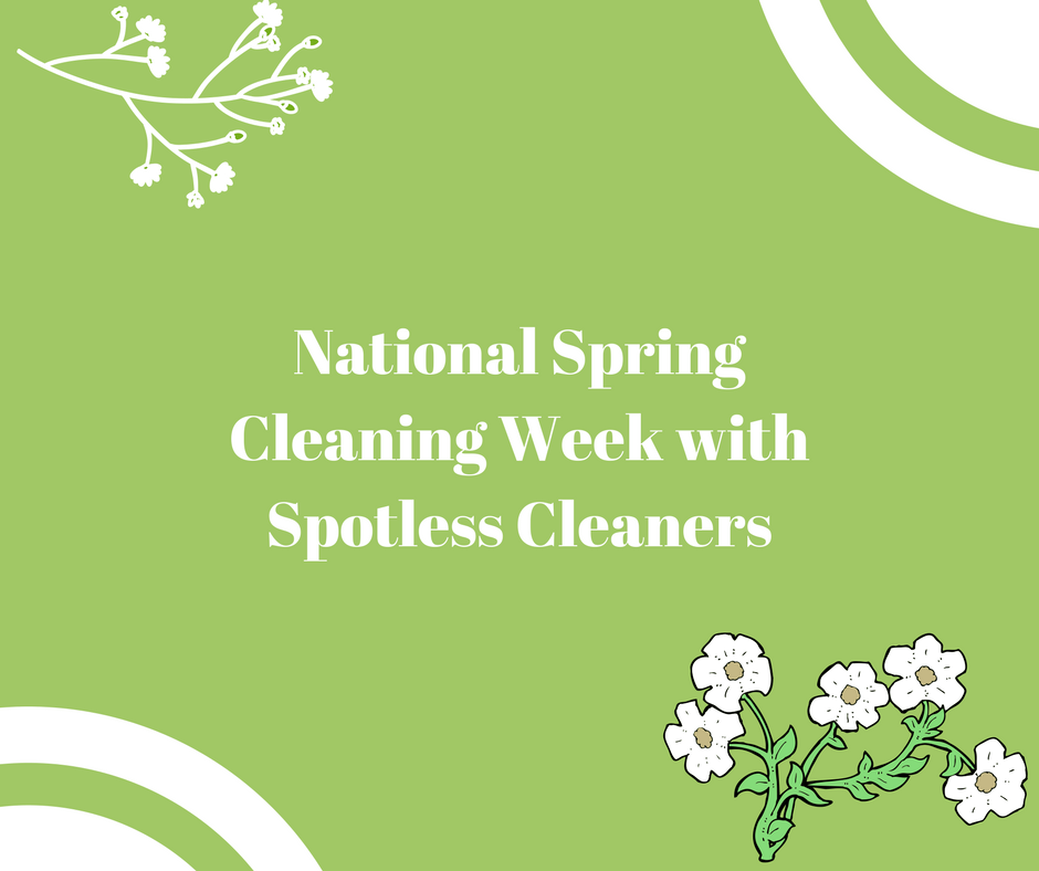 national spring cleaning week